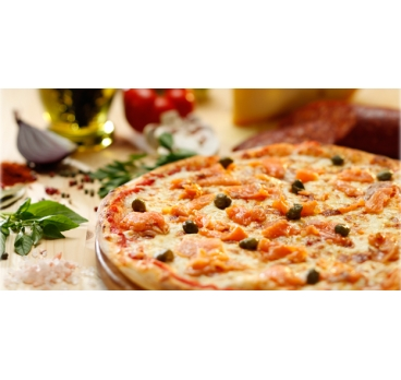 Pizza Salmone 40cm