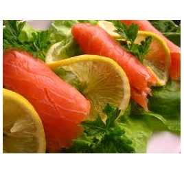 Salata Somon Fume