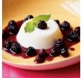 PannaCotta cu fructe de padure