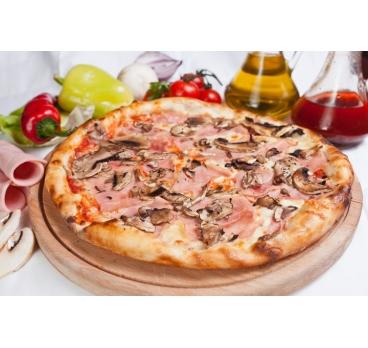 Pizza Prosciutto Funghi 40cm