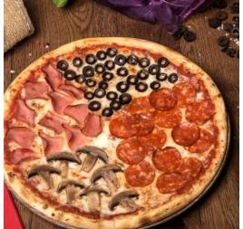 Pizza Quattro Stagioni 32cm