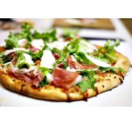 Pizza prosciutto crudo e rucola